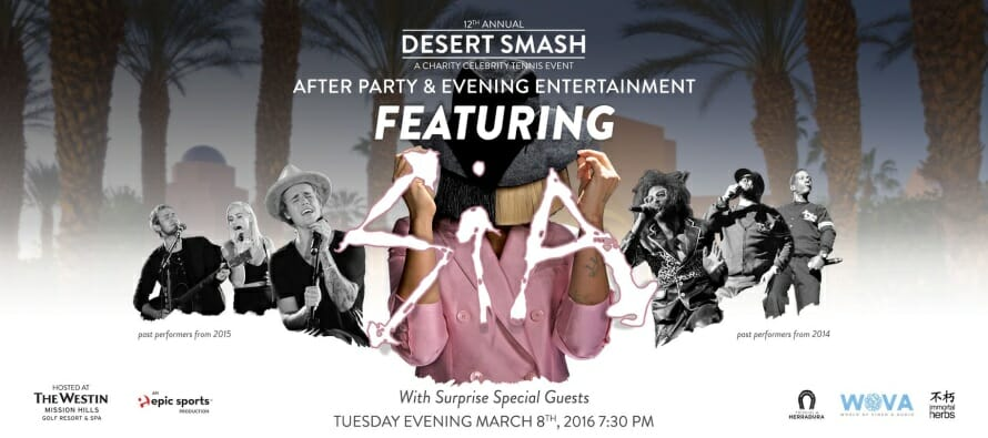 12th Annual Desert Smash – A Charity Celebrity Tennis Event
