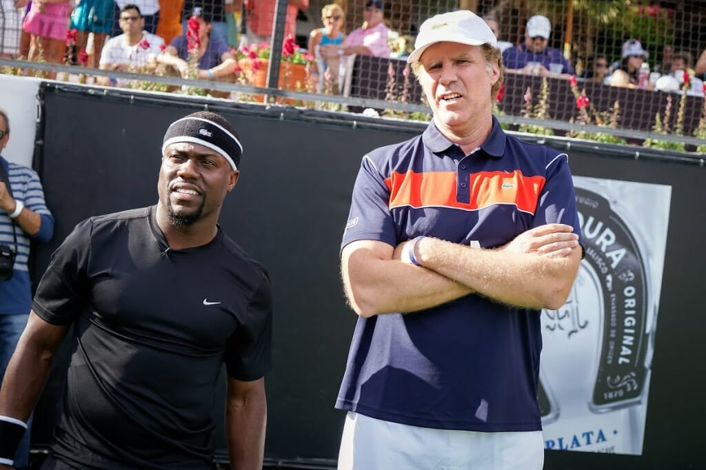 "Will Ferrell and Kevin Hart at Desert Smash 2015 ""© Shoubert David"""