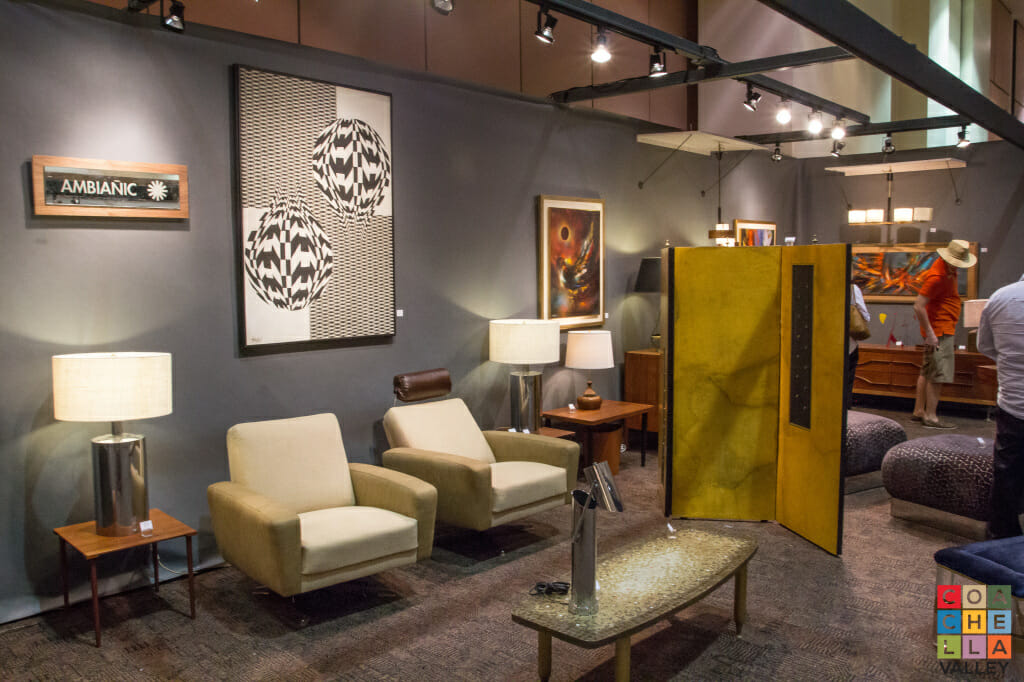 One of the largest ever exhibits of fine art and collectibles celebrating mid-century modern designs.