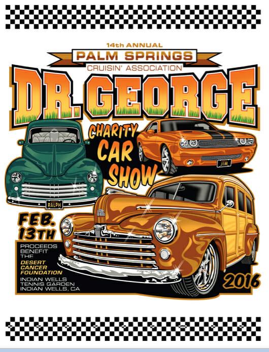 Coachella Valleys Longest Running Car Show Th Annual Dr George - Palm springs car show