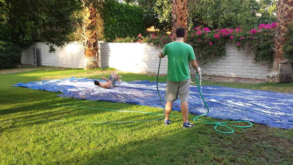 Make a Slip-n-Slide