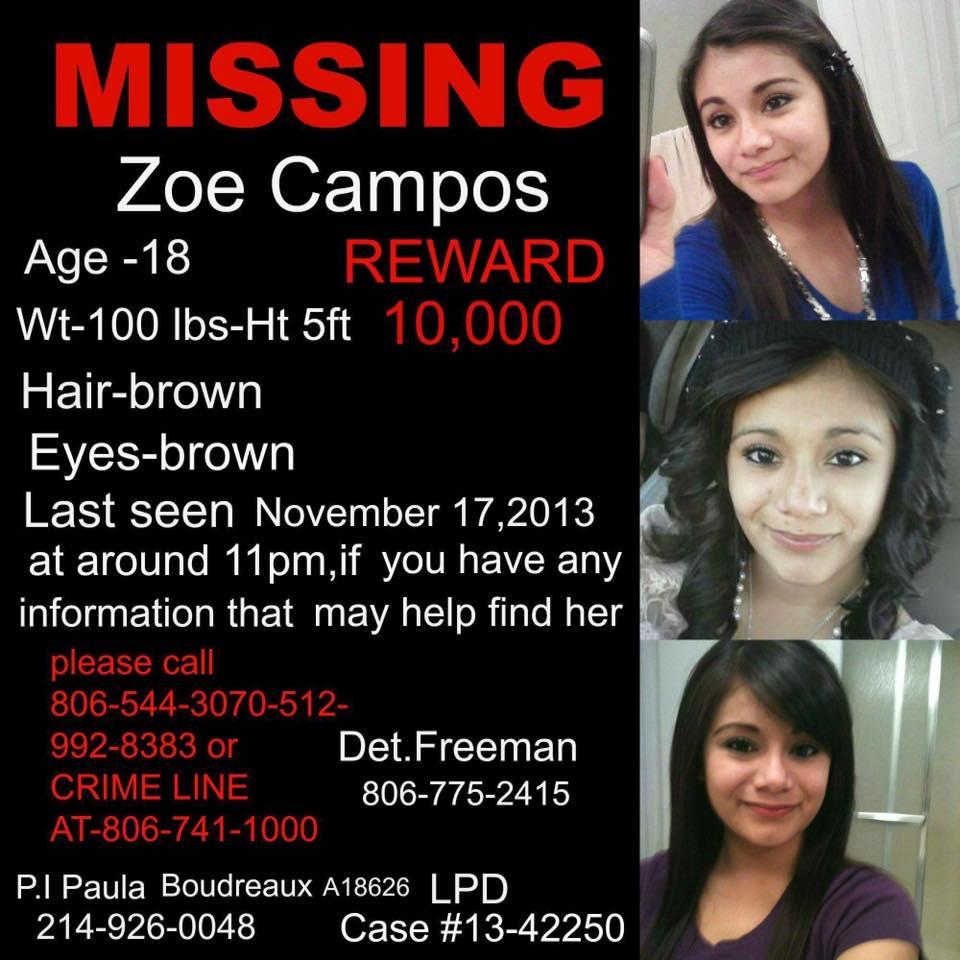 HELP FIND ZOE