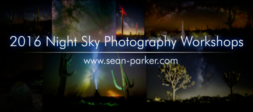 Joshua Tree Astrophotography Workshop