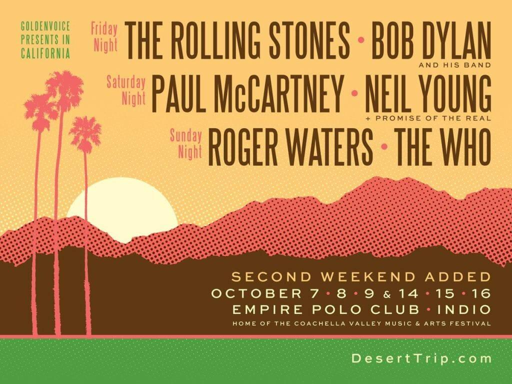 Coachella Valley's Desert Trip