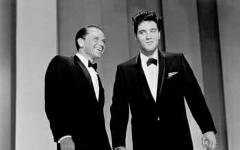 Elvis Presley and Frank Sinatra – May 12, 1960