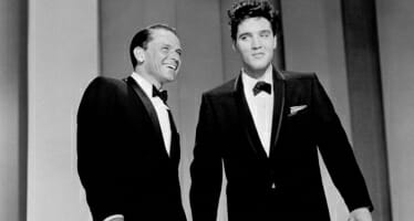 Elvis Presley and Frank Sinatra – May 12, 1960