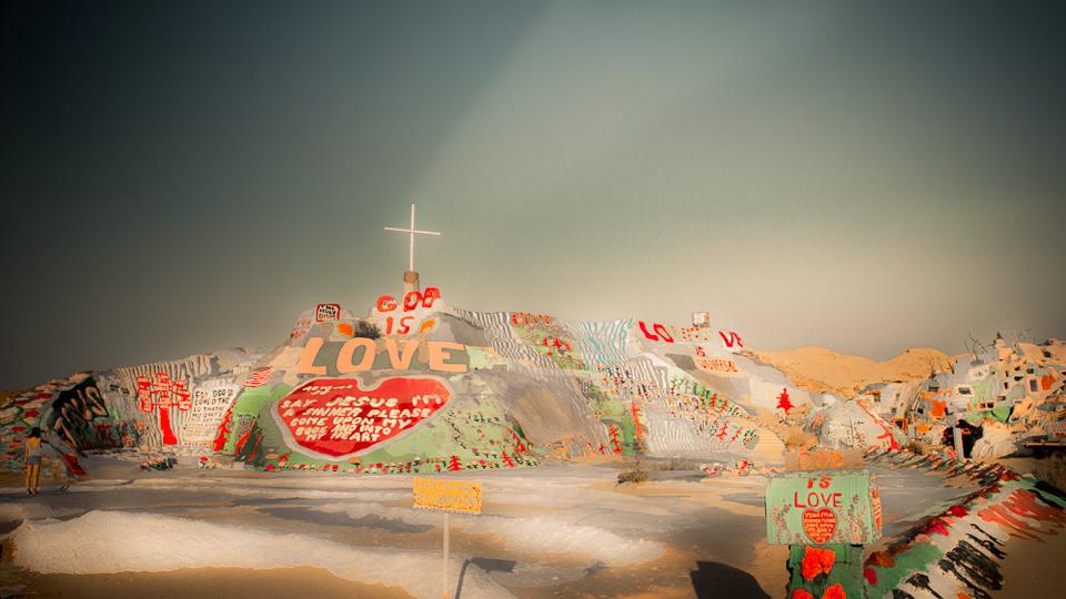 Salvation Mountain by Jim Civello