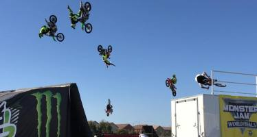 Coachella Valley Entertainment: Monster Memorial Weekend,  Stunt Team BMX , Food Trucks