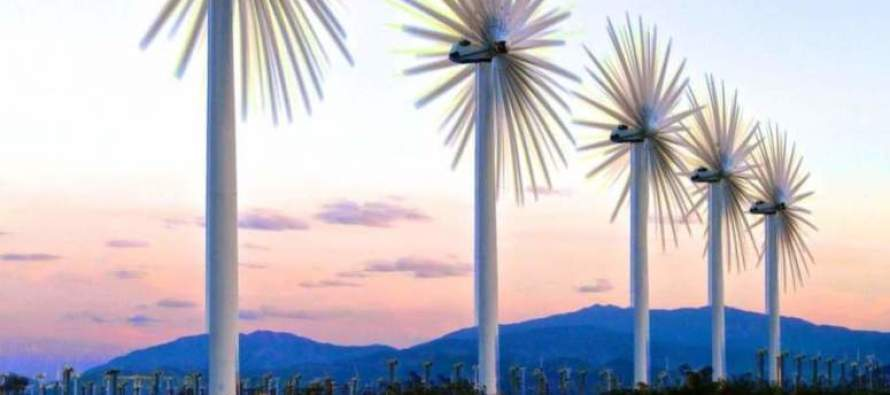 Windmills of the Coachella Valley