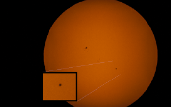 Coachella Valley Astronomy and Astrophotography, Mercury Transit