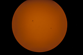 Mercury moves across the sun captured by Coachella Valley Astronomy and Astrophotography