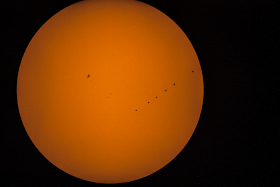 Mercury transit accross the sun occurred in May, 2016