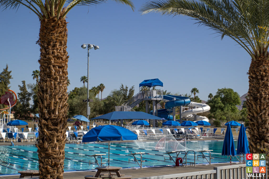 Free Swim Lessons and Free Admission for Recreational Swim - Photo by Coachella Valley, Inc.
