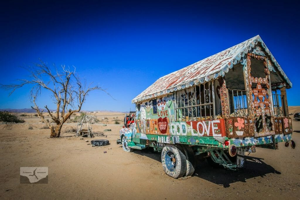 Salvation Mountain by Jill Hayes