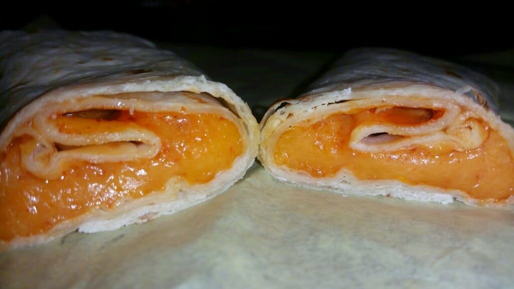 Naugles Cheese Burritos w/ Red Sauce