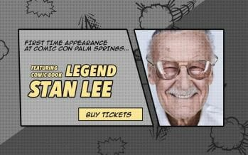 Don't Miss Stan Lee's First Appearance in the Coachella Valley