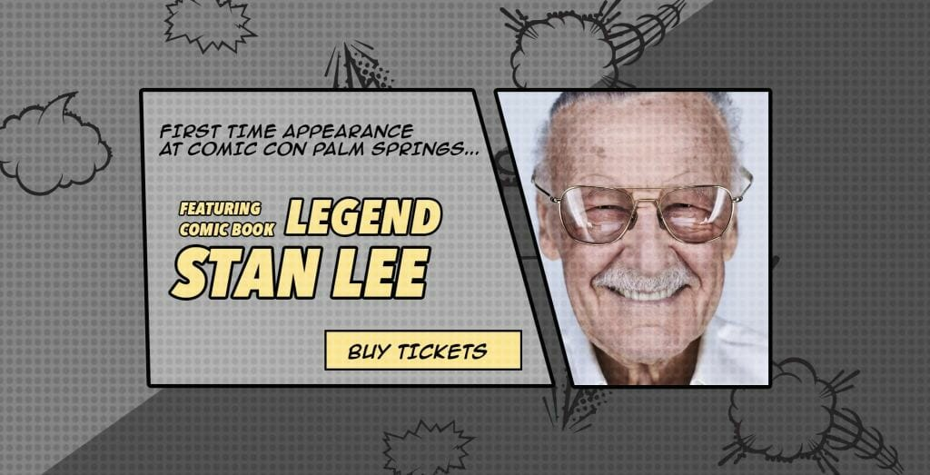 """Marvel""ous comic book legend Stan Lee"
