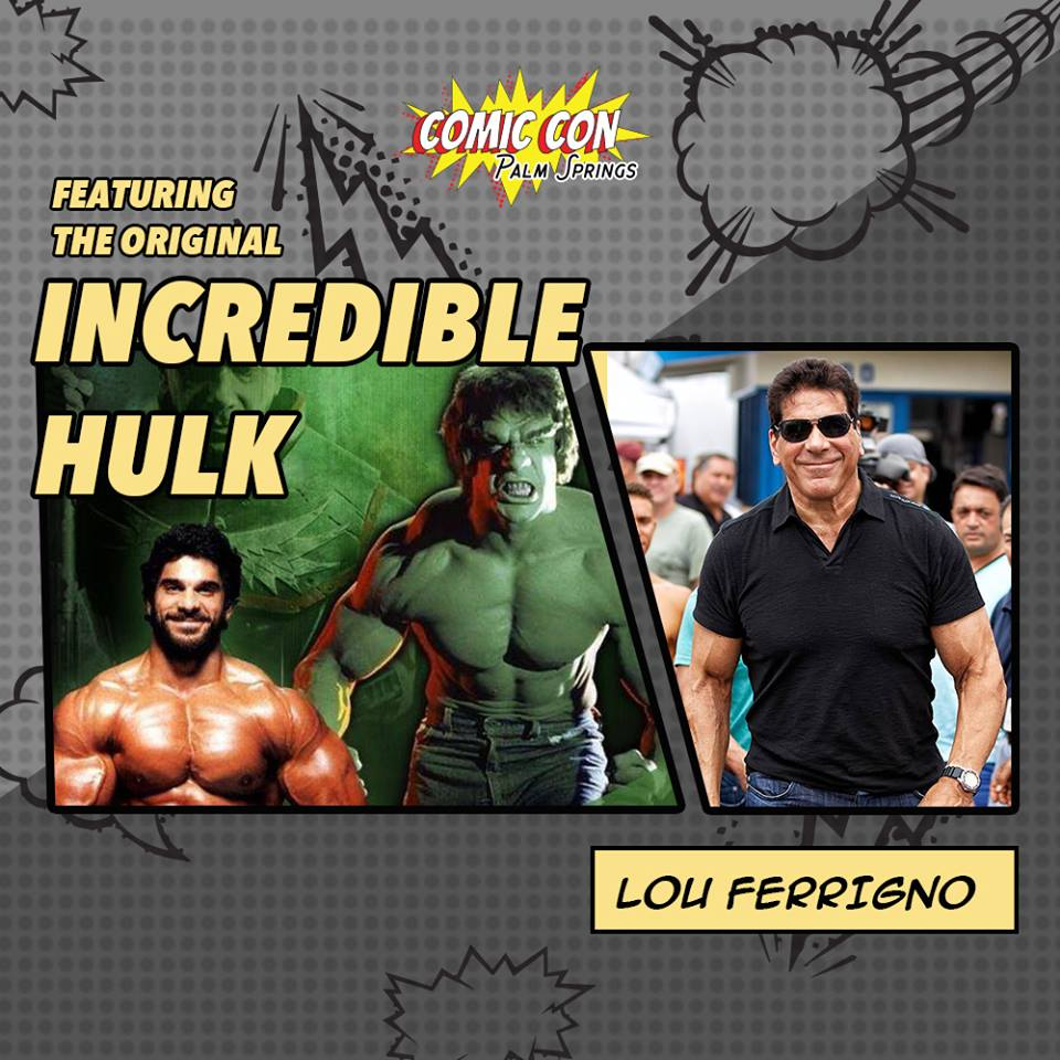 "Lou Ferrigno (aka ""The Hulk"")"