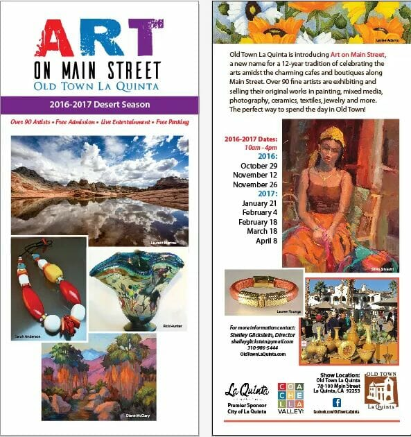Art On Main Street 2016/2017