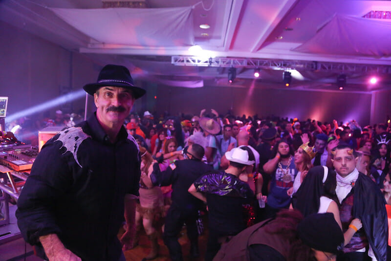 Join 8,000 frenzied Halloween costumed partiers at Hard Rock Palm Springs