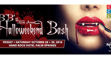"Join Over 5,000 ""Halloweekend"" partiers at the Hard Rock Palm Springs Oct 28 & 29!"