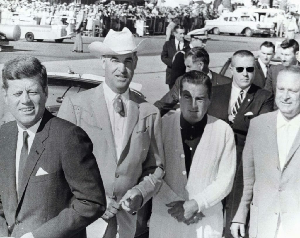 JFK in the Coachella Valley, Courtesy Palm Springs Historical Society