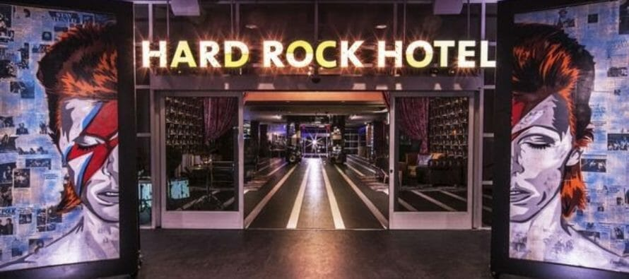 After investing $10 million in the property, the Hard Rock Hotel in Palm Spring is gone.