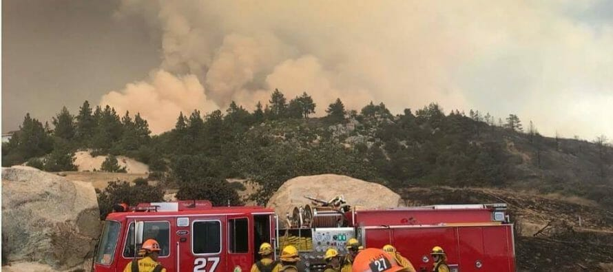 We are experiencing one of the largest wildfires in history in our local Idyllwild community
