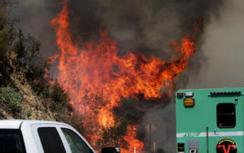 Man arrested on reports that he started fires, including Cranston fire near Idyllwild