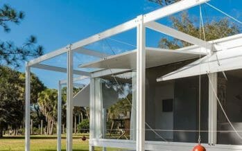 Stunning full-scale, furnished replica of architect Paul Rudolph's iconic 1952 Walker Guest House coming to Palm Springs!