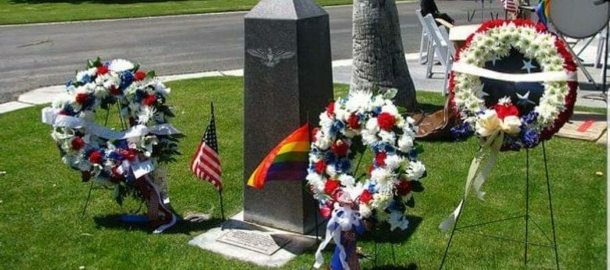 Nations First, Governor Signs Law Recognizing Coachella Valley's LGBTQ Veterans Memorial as Official State Memorial