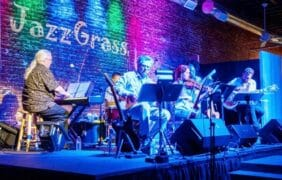 """25th anniversaryJazz in the Pinessurvives Cranston Fire, let the """"Music"""" play on………."""