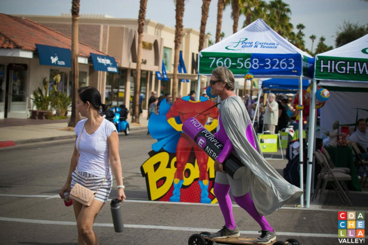 54th Annual Palm Desert Golf Cart Parade