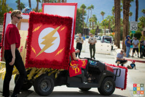 54th Annual Palm Desert Golf Cart Parade along El Paseo Drive