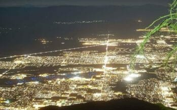 Twinkly lights of our beloved Coachella Valley!! ???