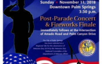 22nd Annual Palm Springs Veterans Day Parade