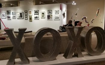 Today is the first full day of Art Palm Springs, here through Monday!