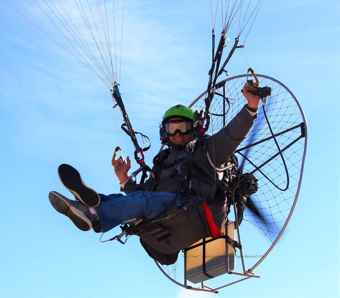 "California Salton Sea Fly-in ""Gathering"" of Paramotor Pilots"
