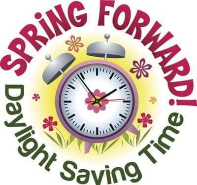 Daylight Savings Sunday, 2am, March 10, 2019
