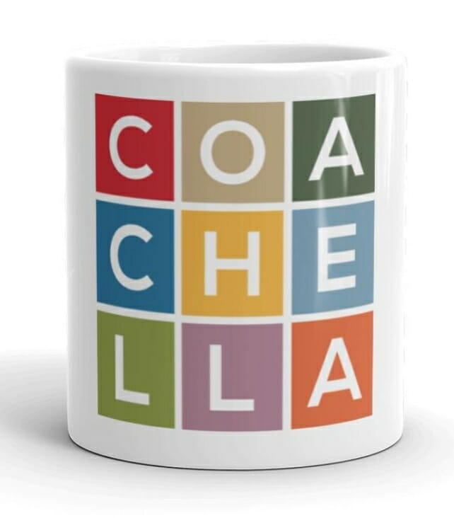 Shop Coachella Valley, Free shipping available, limited supplies..