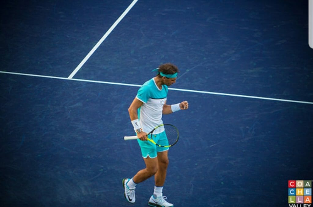 Rafael Nadal by Craige Campbell/ Coachellavalley.com