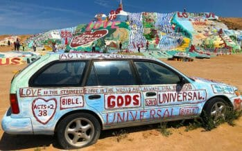 The Salton Sea, Salvation Mtn. After a spring visit to Joshua Tree National Park