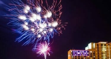RANCHO MIRAGE Agua Caliente Casino Rancho Mirage Fireworks  View a free fireworks spectacular at 9 p.m.
