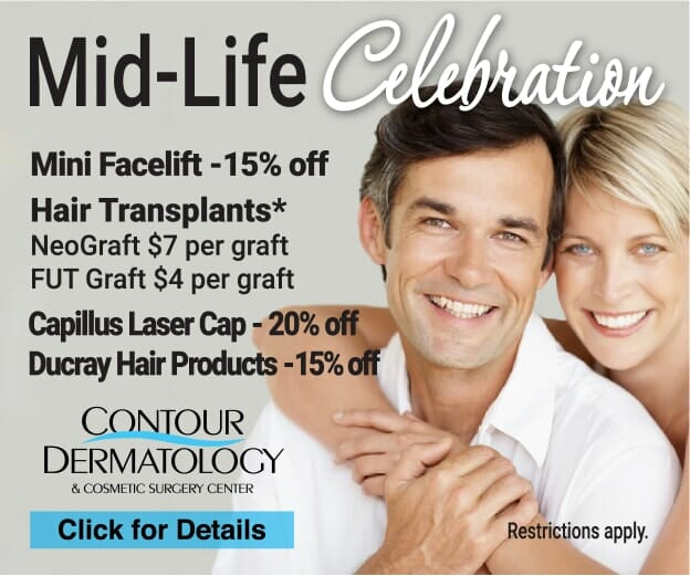 September 2019 Specials – Mini Facelift & Hair Restoration