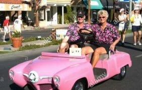 55th Annual Palm Desert Golf Cart Parade is here…