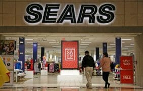 Sears at the Palm Desert Westfield Mall Closing