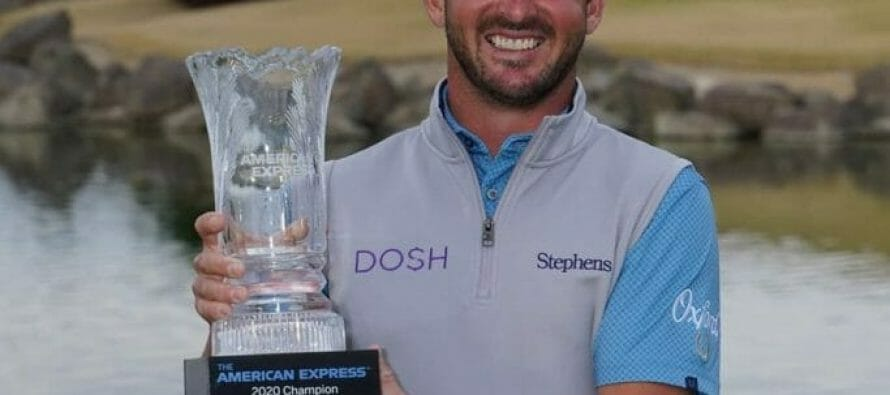 Winner of $1.206 million and the 2020 American Express Champion Andrew Landry