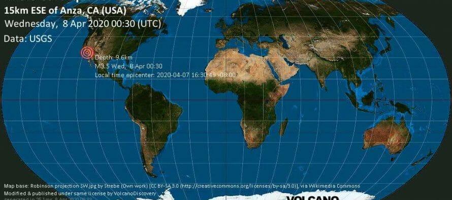 Minor magnitude. 3.5 earthquake at 5:30pm!