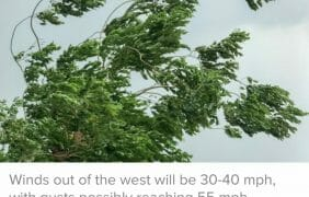 Wind Advisory Issued For Pass Area, Coachella Valley