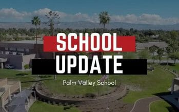 PALM VALLEY IS FIRST SCHOOL IN THE COACHELLA VALLEY ALLOWED TO REOPEN